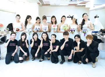 化妆及婚礼统筹证书(资历架构第3级)